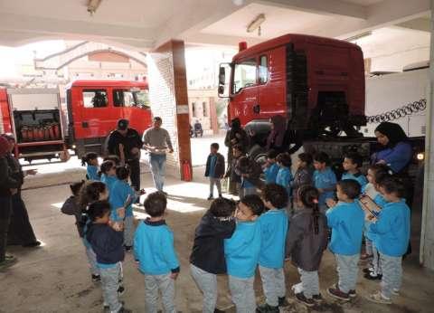 """مديرية أمن أسوان تستقبل طلاب المدارس ضمن مبادرة """"كلنا واحد"""""""