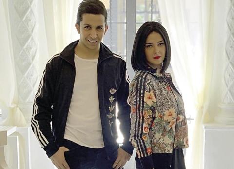 دنيا سمير غانم تكشف كواليس أغنيتها الخليجية مع هشام جمال