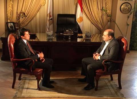 """الليلة.. وزير الشباب والرياضة ضيف محمد الباز في """"90 دقيقة"""""""