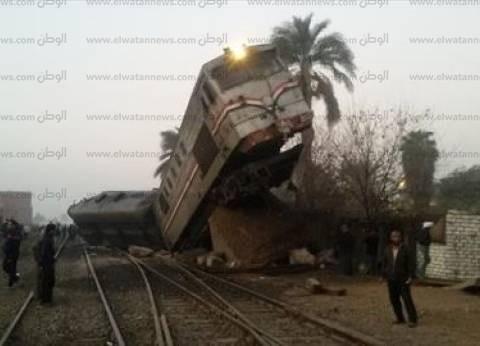"""نيابة بني سويف تبدأ التحقيقات مع سائق """"قطار الصعيد"""" ومساعديه"""