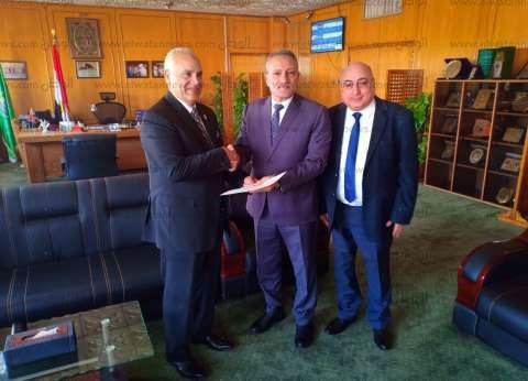 محافظ الإسماعيلية يستقبل رئيس هيئة قضايا الدولة