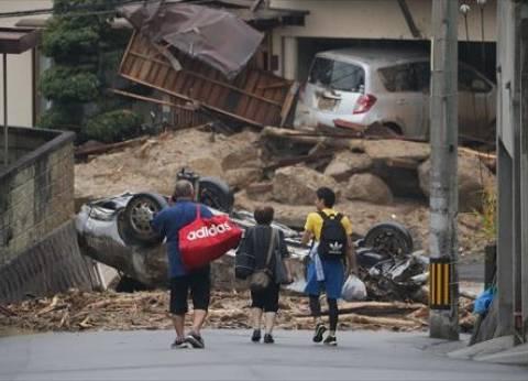 الحصيلة الموقتة لضحايا الأمطار الغزيرة في اليابان ترتفع إلى 100 قتيل