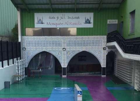 """مسجد """"الروضة"""" الفرنسي.. جهد 4 سنوات للمصريين افتُتح مع المولد النبوي"""