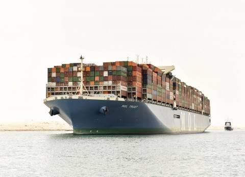 مميش: ثالث أكبر سفينة حاويات في العالم تعبر قناة السويس الجديدة