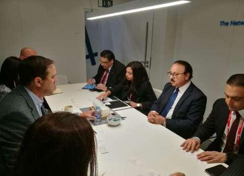 """وزير الاتصالات يبحث مع """"سيسكو"""" العالمية ضخ استثمارات جديدة"""