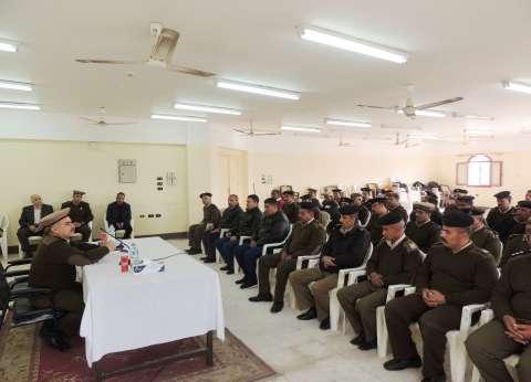 نائب مدير أمن المنيا يشهد ختام الدورة التثقيفية رقم51 لرجال الشرطة