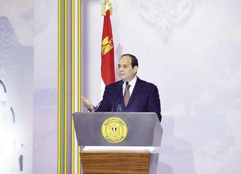 """السيسي لـ""""ميتشيتي"""": المصريون يتحملون أعباء الإصلاح الاقتصادي بكل شجاعة"""