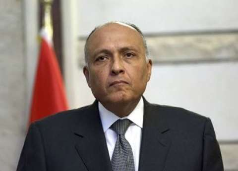 سامح شكري يحث الأطراف الليبية على تنفيذ اتفاق الصخيرات