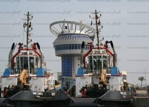 158016 طن قمح رصيد صومعة الحبوب والغلال بميناء دمياط