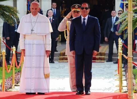 ما القداس الإلهي الذي يصليه بابا الفاتيكان في استاد الدفاع الجوي؟