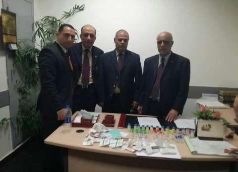 جمارك مطار القاهرة تحبط تهريب كمية من الأدوية