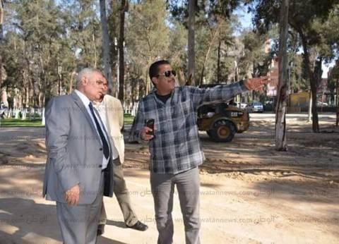 سكرتير محافظة الإسماعيلية يتفقد استعدادات الاحتفال بعيد الربيع