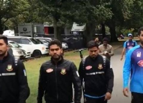 بالفيديو| كيف نجا فريق بنغالي من الهجوم على مسجد في نيوزيلندا؟