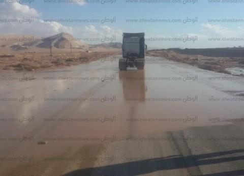 """استمرار غلق طريق """"فيران -كاترين"""" أمام حركة المرور بسبب سوء الطقس"""