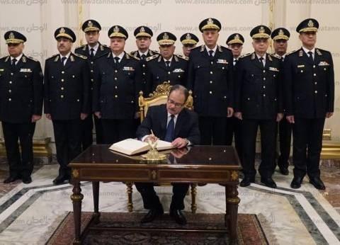 """في عيد الشرطة.. وزير الداخلية لـ""""السيسي"""": عبرت بالوطن نحو الاستقرار"""
