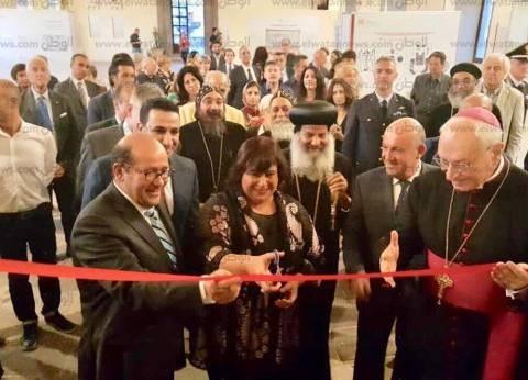 الكنيسة: وزيرة الثقافة تفتتح معرضا للأيقونات القبطية بإيطاليا