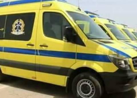 """""""الصحة"""": وفاة 4 مواطنين وإصابة 8 في حادث تصادم بالإسماعيلية"""