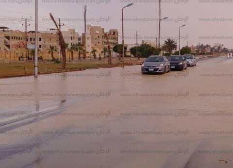 بالصور| سدود جنوب سيناء تنقذ المحافظة من خطر السيول