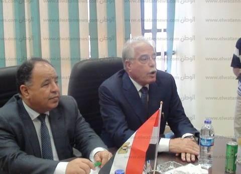 وزير المالية: مبني الضرائب العقارية الجديد بطور سيناء يخدم جميع المدن