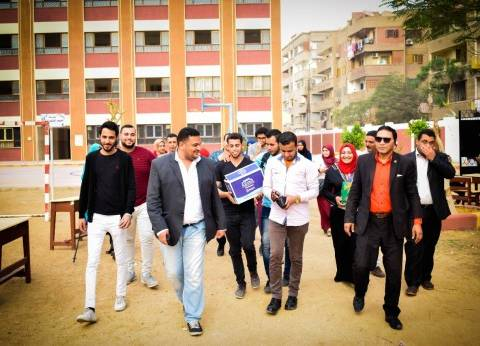مسيرات شبابية لحث المواطنين على التصويت في سوهاج