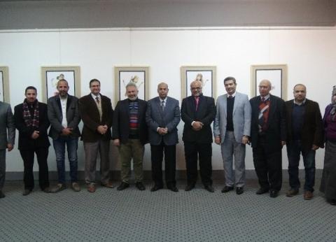 """افتتاح معرض """"المعايير التصميمية لمسرح عرائس الماريونيت"""" بجامعة المنيا"""