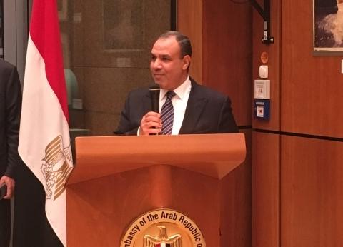 بدر عبدالعاطي: الرئيس حظى بحفاوة شديدة في ألمانيا.. ولقاء ميركل مثمر