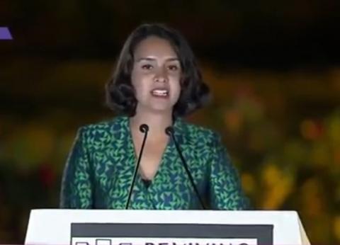 شيماء أبو الخير: النصب التذكاري لإحياء الإنسانية هدية مصر للعالم