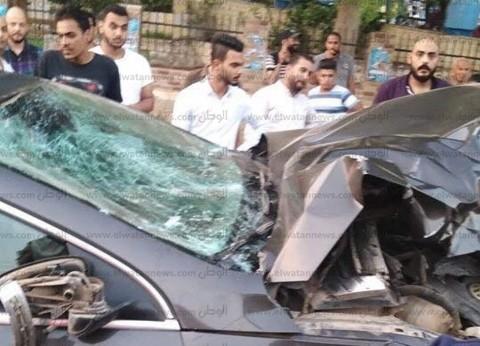 مصرع شاب وإصابة شخصين في حادث تصادم بالمنصورة