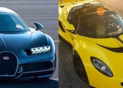 بالفيديو| بوجاتي شيرون وهينيسي فينوم F5.. سباق أسرع سيارتين في العالم