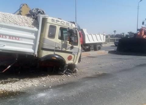 إصابة شخصين في حادث سير بالبحيرة
