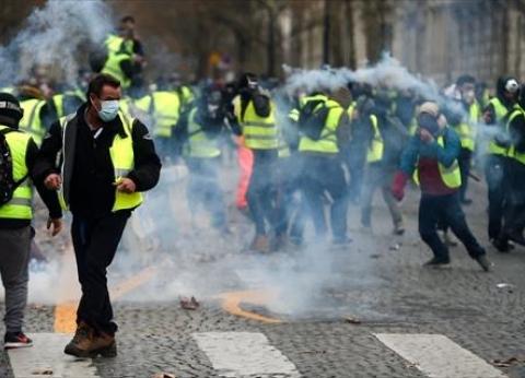 """إغلاق عدد من محطات المترو في باريس بسبب مظاهرات """"السترات الصفراء"""""""