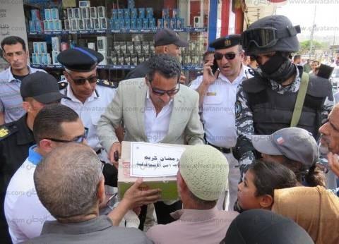 مدير أمن الإسماعيلية يتابع صرف الدفعة الأولى لتعويض الصيادين