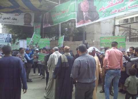 """أنصار الخولي يحتشدون أمام """"الوفد"""" لدعمه في انتخابات رئاسة الحزب"""