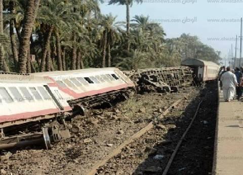وزير النقل لـ«الوطن»: خطأ فى نظام الإشارات أدى إلى فتح «التحويلة» ووقوع حادث قطار المرازيق