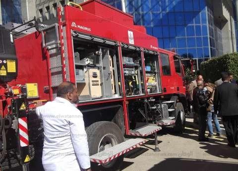 الحماية المدنية تسيطر على حريق شقة سكنية في العاشر من رمضان