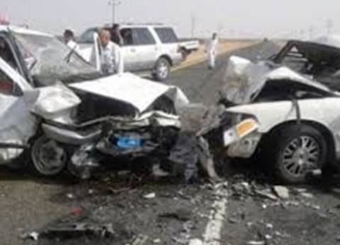"""أهالي """"الجب"""" بالفيوم يستعدون لاستقبال 9 جثث من ضحايا حادث تصادم"""
