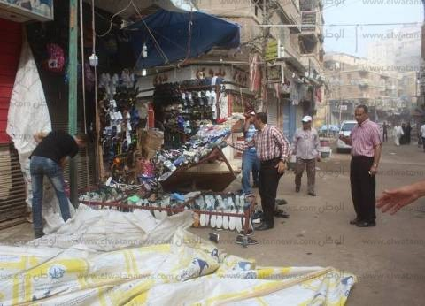 بالصور| مساعد محافظ كفر الشيخ يقود رفع الإشغالات من شوارع دسوق