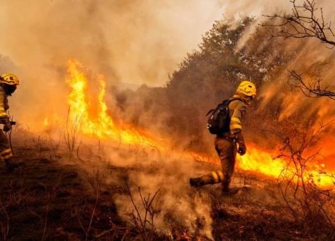 استمرار نزوح آلاف السكان من كاليفورنيا بسبب الحرائق الهائلة