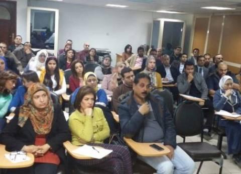 الشافعي لمحرري الاقتصاد: يجب أن نكون متفائلين بتحسن البورصة المصرية