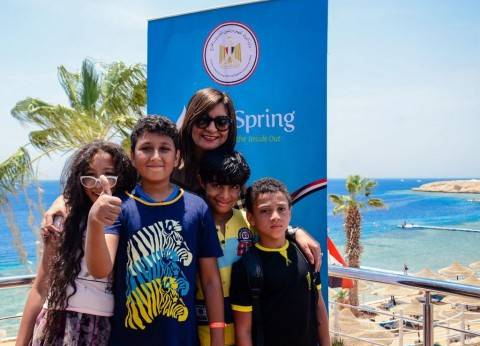 وزيرة الهجرة تشارك في ندوة بمعسكر أبناء المصريين في الخارج بشرم الشيخ