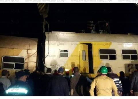 """السكة الحديد تنتهي من رفع آثار كارثة """"قطاري البحيرة"""""""