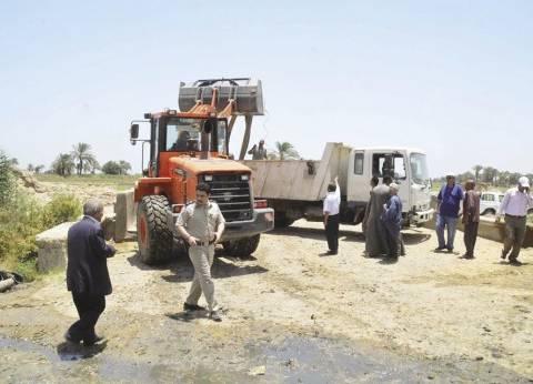إزالة إشغالات القرية الفرعونية بالجيزة خلال أيام