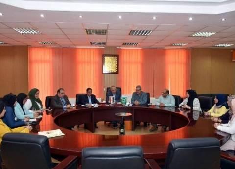 محافظ الشرقية يلتقي أعضاء المجلس الاقتصادي لسيدات الأعمال