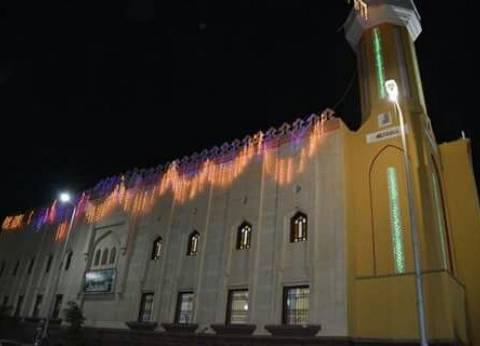 """محافظ دمياط ووزير الأوقاف ومفتي """"الديار"""" يفتتحون مسجد الشهداء في دمياط"""