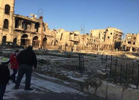 الدفاع الروسية: إبطال مفعول 25 ألف عبوة ناسفة في حلب
