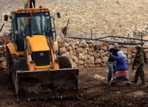 الاحتلال الإسرائيلي يهدم منشآت وخياما في الأغوار الشمالية