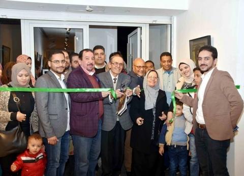 بالصور  افتتاح معرض الراحل مصطفى مشعل ويضم 100 لوحة