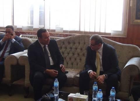 بالصور| وزير القوى العاملة يفتتح ملتقى السلامة والأزمات بالمنوفية