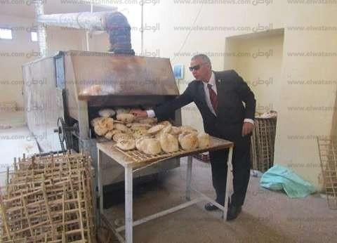 ضبط مخبزين يتلاعب أصحابهما فى أوزان الخبز بالغربية