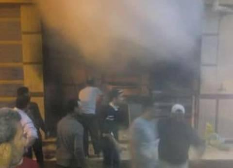 حريق هائل في معمل تفريع كتاكيت ونفوق 1000 كتكوت في دمياط